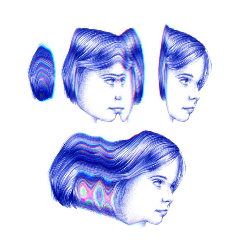 Las ilustraciones de Nuria Riaza se tiñen de azul 8