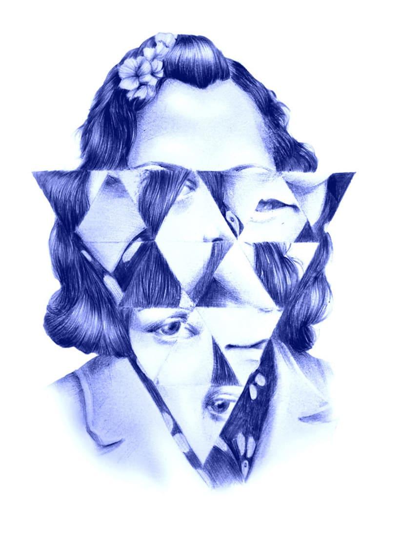 Las ilustraciones de Nuria Riaza se tiñen de azul 9