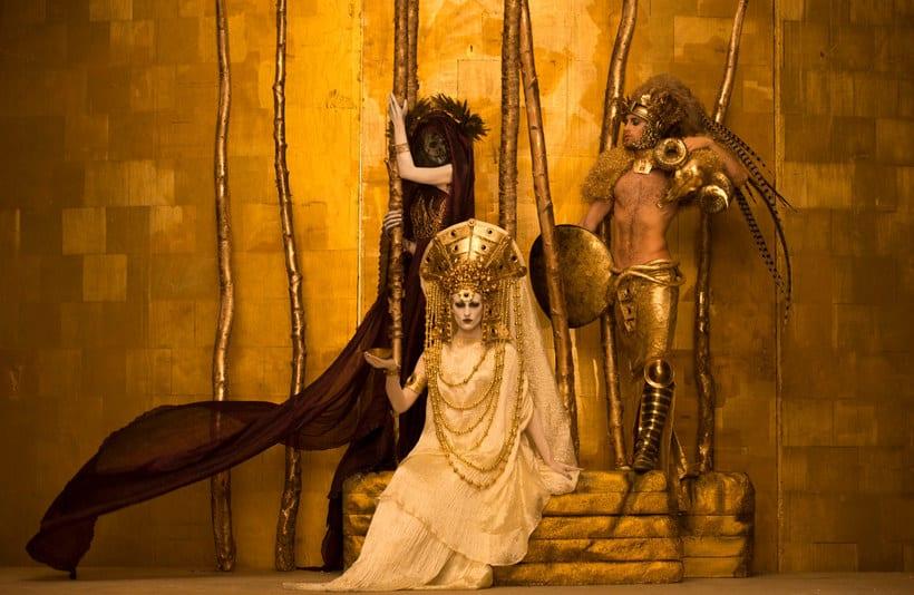 La obra de Gustav Klimt recreada en fotografías 1