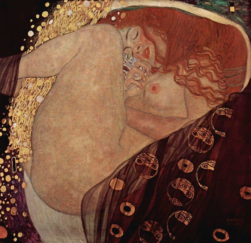 La obra de Gustav Klimt recreada en fotografías 3