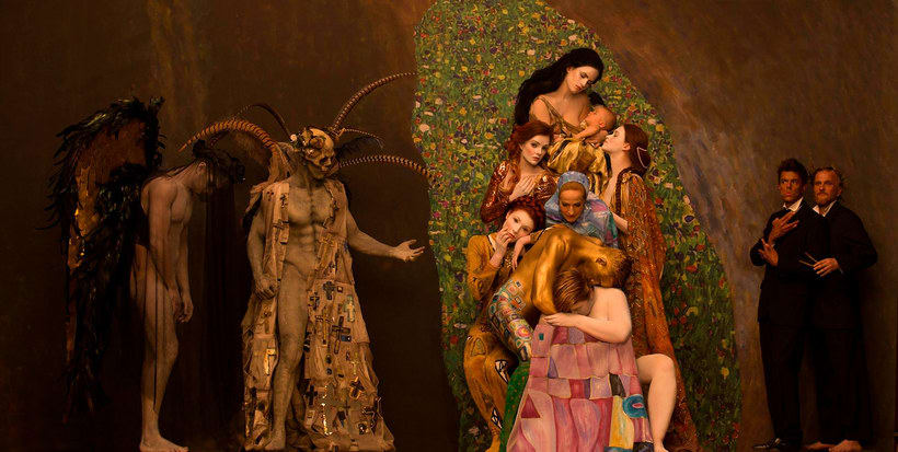 La obra de Gustav Klimt recreada en fotografías 6