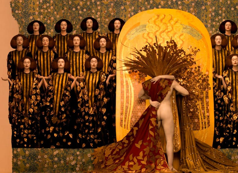 La obra de Gustav Klimt recreada en fotografías 8