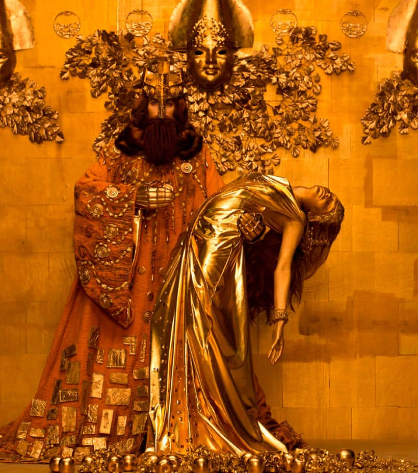 La obra de Gustav Klimt recreada en fotografías 9