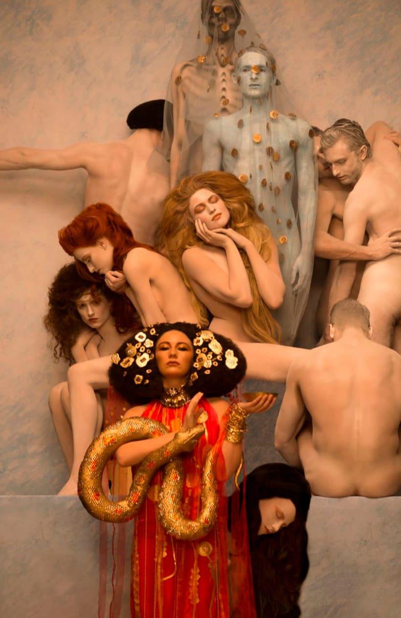 La obra de Gustav Klimt recreada en fotografías 11