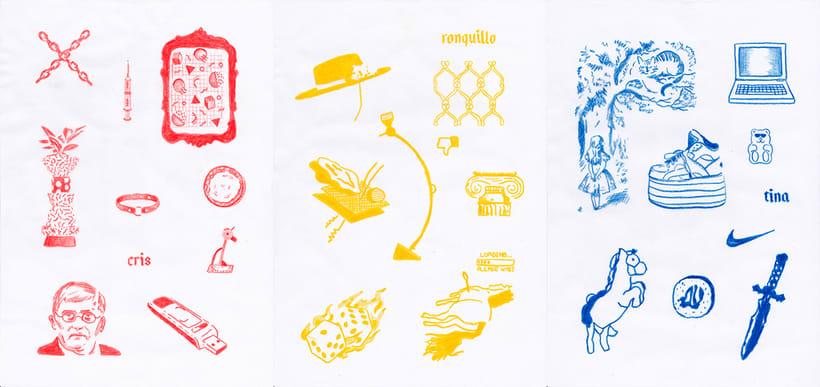 Graphic Textile Designer - Creación y dirección de arte para una colección de ropa -1