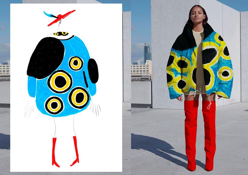 Graphic Textile Designer - Creación y dirección de arte para una colección de ropa 0