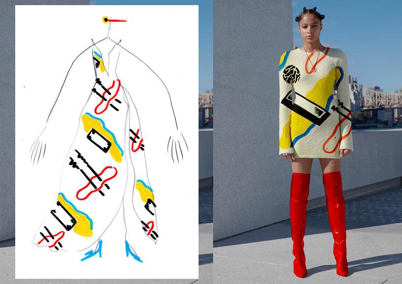 Graphic Textile Designer - Creación y dirección de arte para una colección de ropa 1