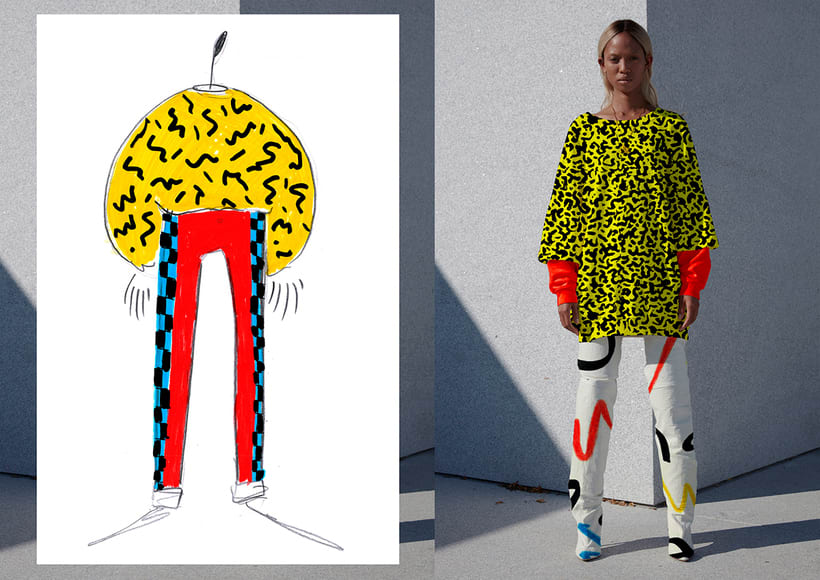 Graphic Textile Designer - Creación y dirección de arte para una colección de ropa 2