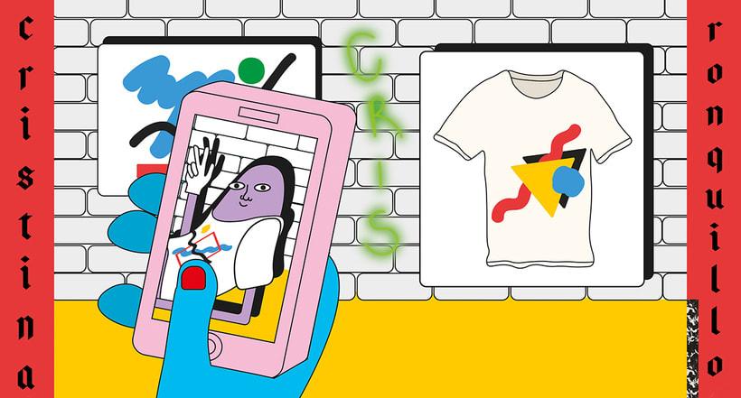 Graphic Textile Designer - Creación y dirección de arte para una colección de ropa 4