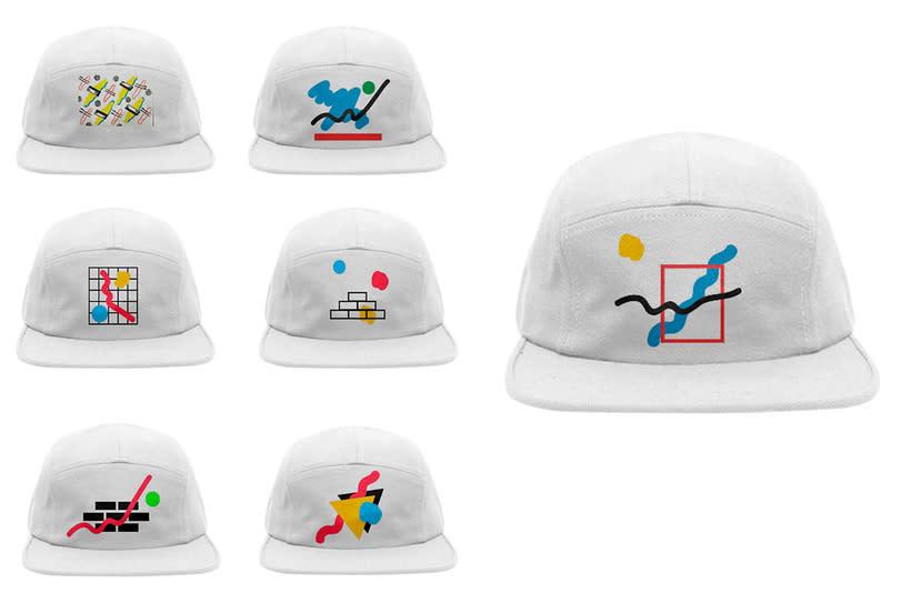 Graphic Textile Designer - Creación y dirección de arte para una colección de ropa 12