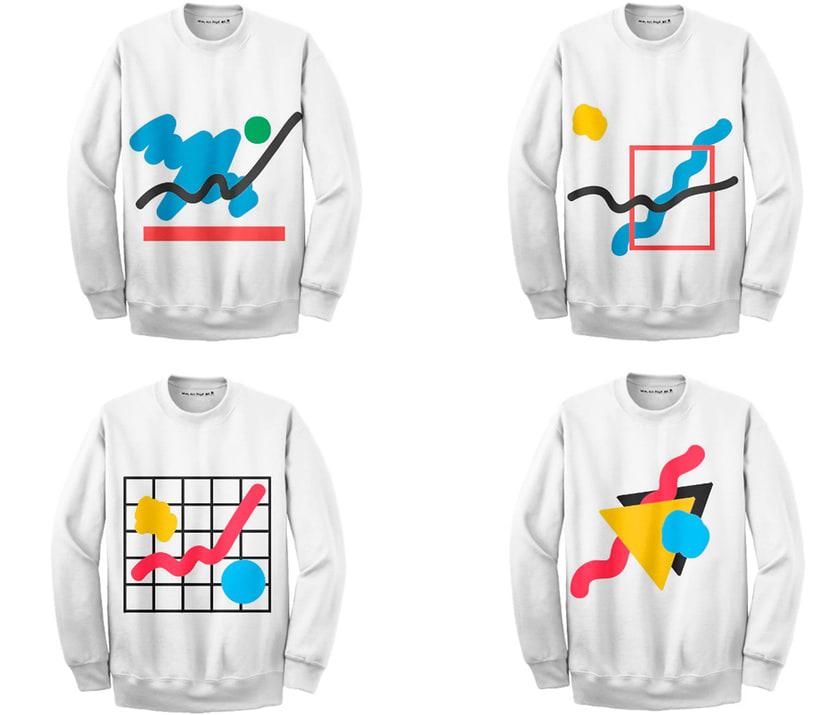Graphic Textile Designer - Creación y dirección de arte para una colección de ropa 13