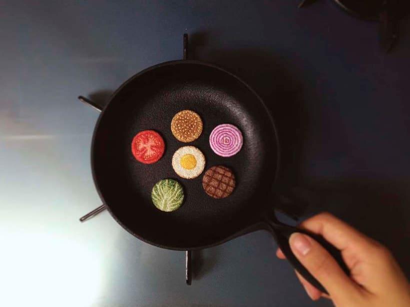 Los microbordados gastronómicos de Ipnot 18