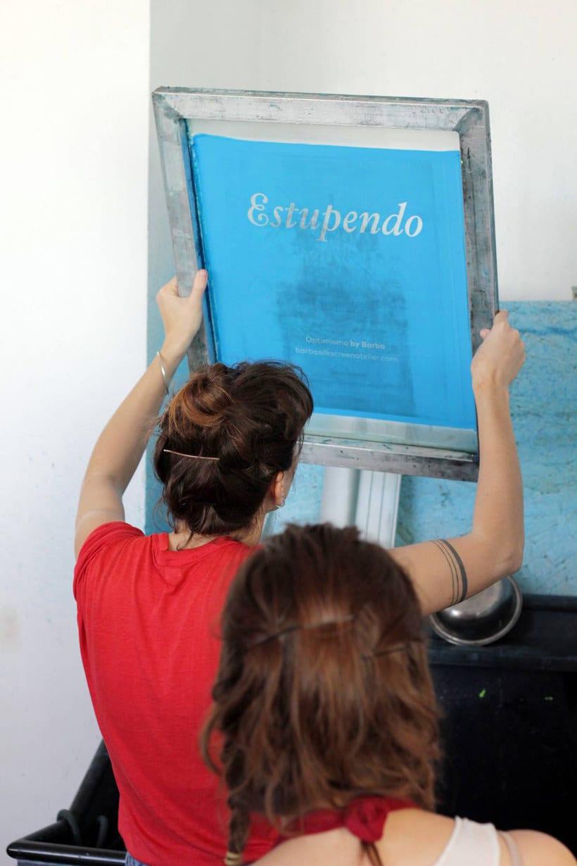 Monta tu propio taller de serigrafía 10