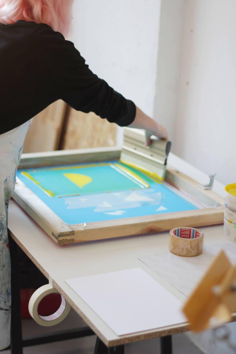 Monta tu propio taller de serigrafía 14