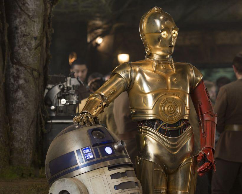 C3PO & Chappie Mashup / ROBOT 10