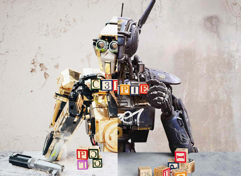 C3PO & Chappie Mashup / ROBOT 4
