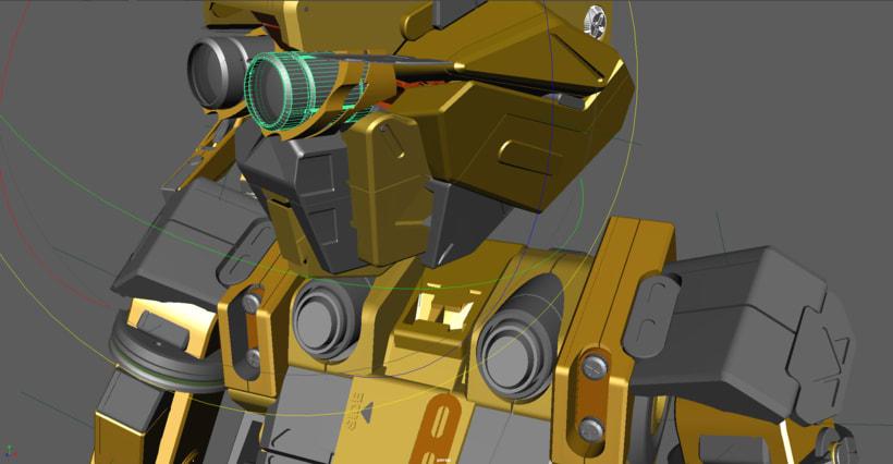 C3PO & Chappie Mashup / ROBOT 6