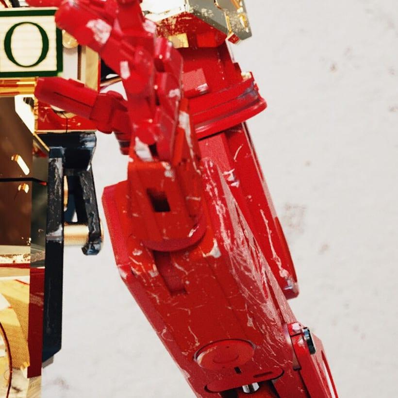 C3PO & Chappie Mashup / ROBOT 14