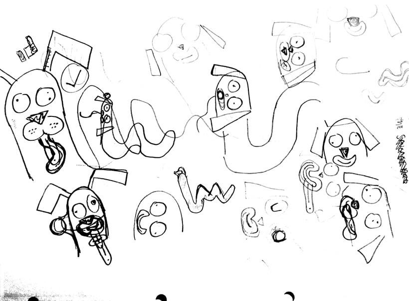 Morthimer, el perro salchicha ( Proyecto del curso: Lettering 3D de @zigor ) 6