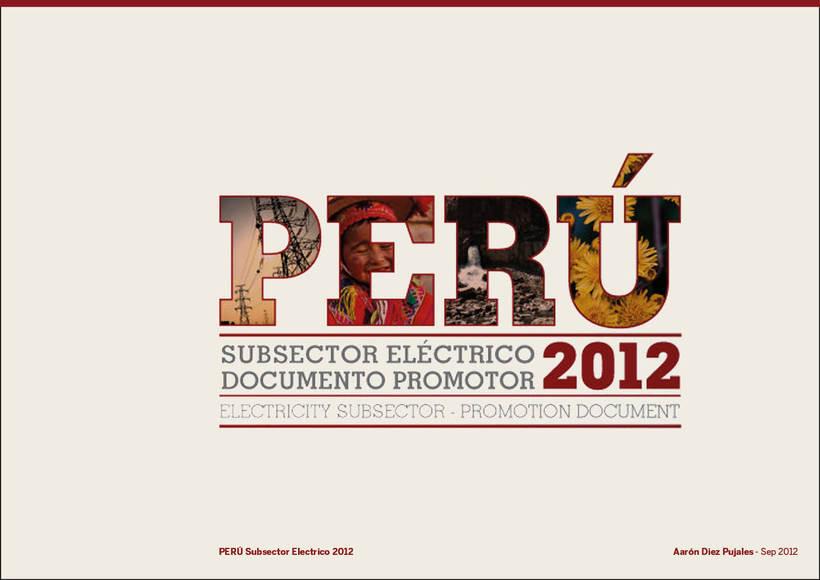 Anuario Ministerio de Energía Perú 0
