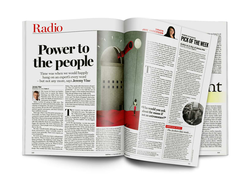 Power to the People. Jeremy Vine for Radio Times 4