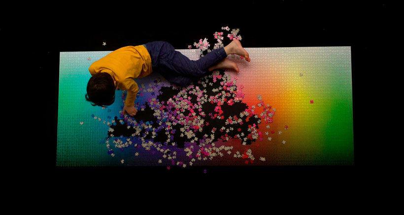 Un puzle CMYK de 5000 piezas 1
