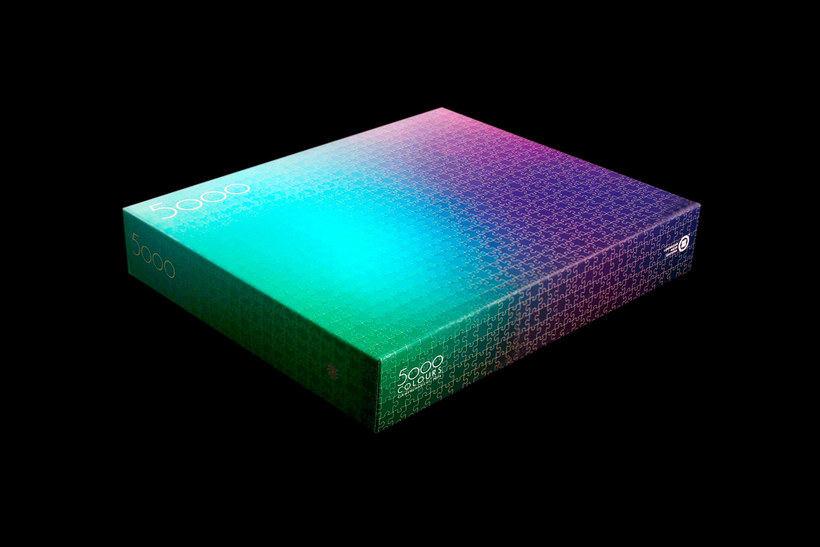 Un puzle CMYK de 5000 piezas 3