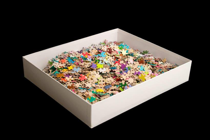 Un puzle CMYK de 5000 piezas 5