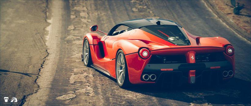 La Ferrari / ROBOT 0