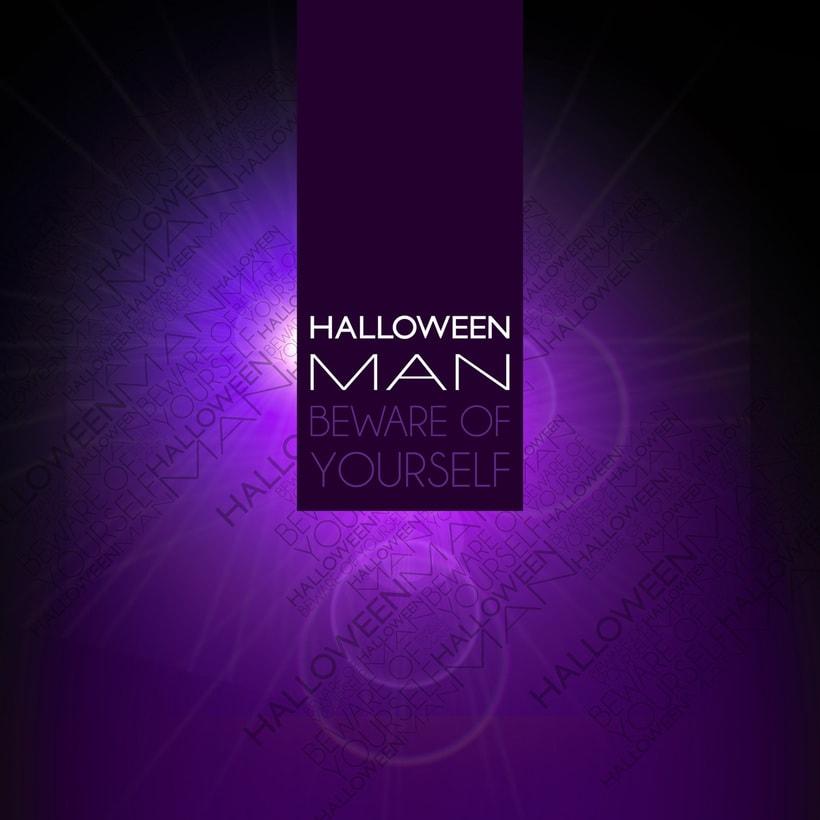 Diseño - perfume HALLOWEEN MAN -1