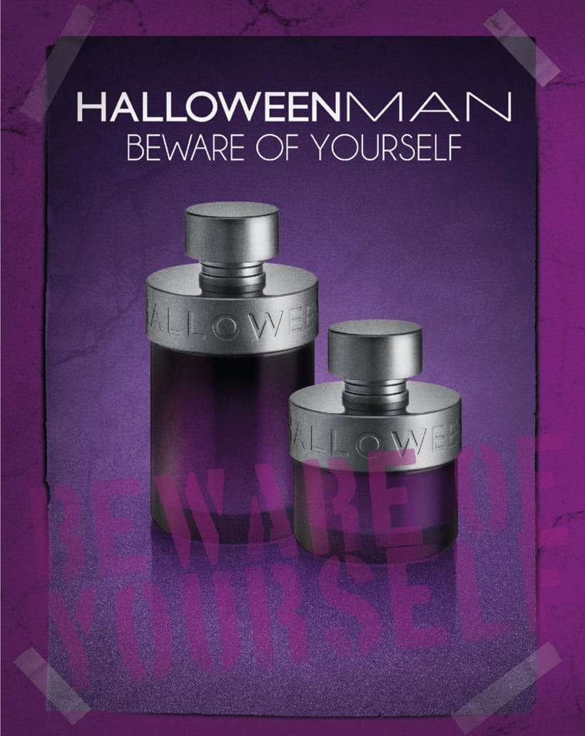Diseño - perfume HALLOWEEN MAN 1