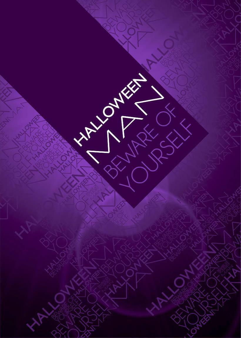 Diseño - perfume HALLOWEEN MAN 2