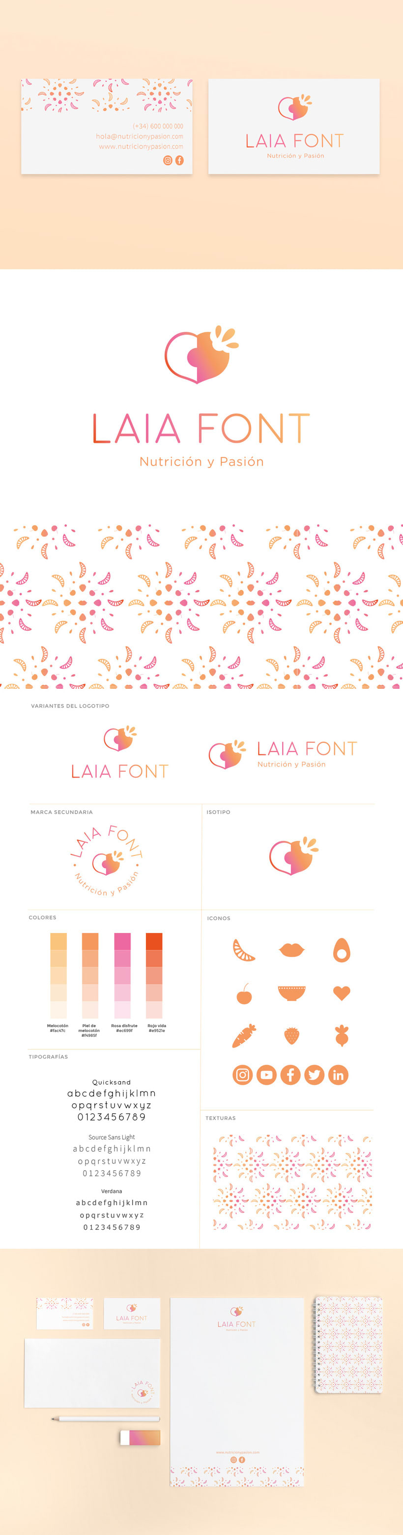 Branding Laia Font -1