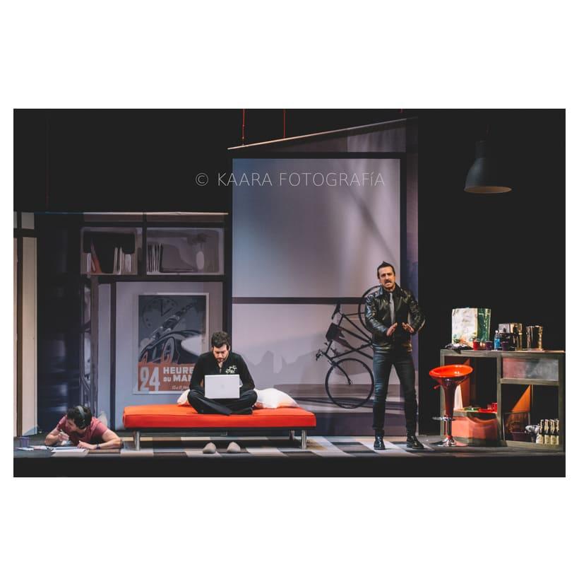 """FOTOGRAFIA DE EVENTOS   Espectáculo """"Pánico"""" en el Teatro Lara -1"""