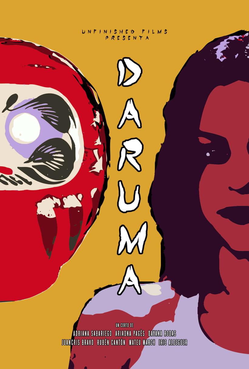 Daruma (corto completo +  poster + trailer) 1