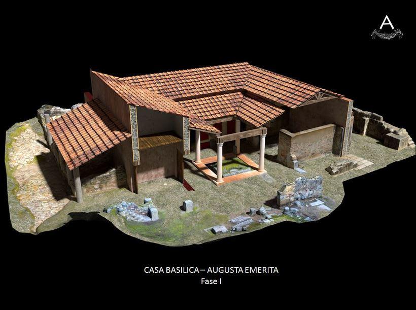 Domus romana del teatro. Augusta Emerita. 1
