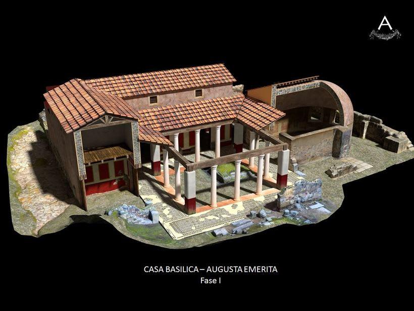 Domus romana del teatro. Augusta Emerita. 2