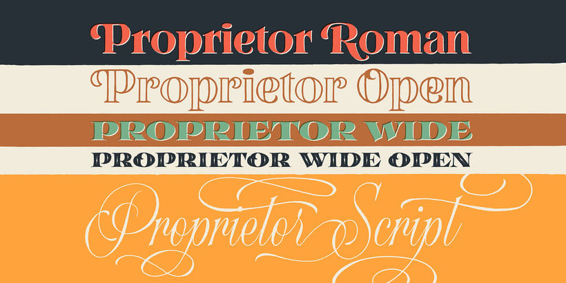 Proprietor — Type Family 5
