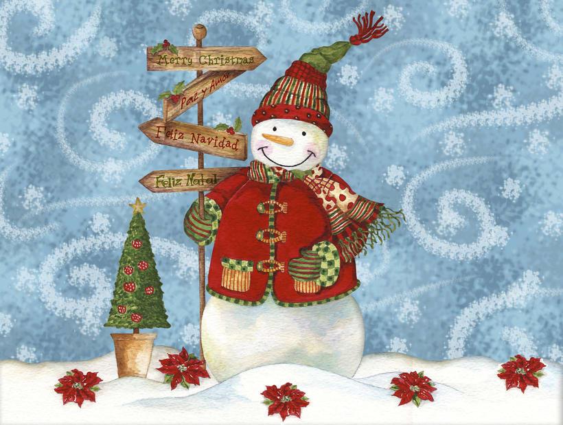 Algunas ilustraciones navideñas 0