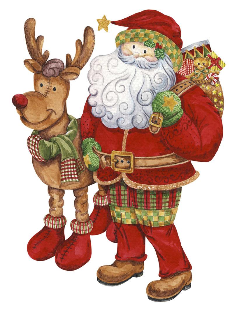 Algunas ilustraciones navideñas 1