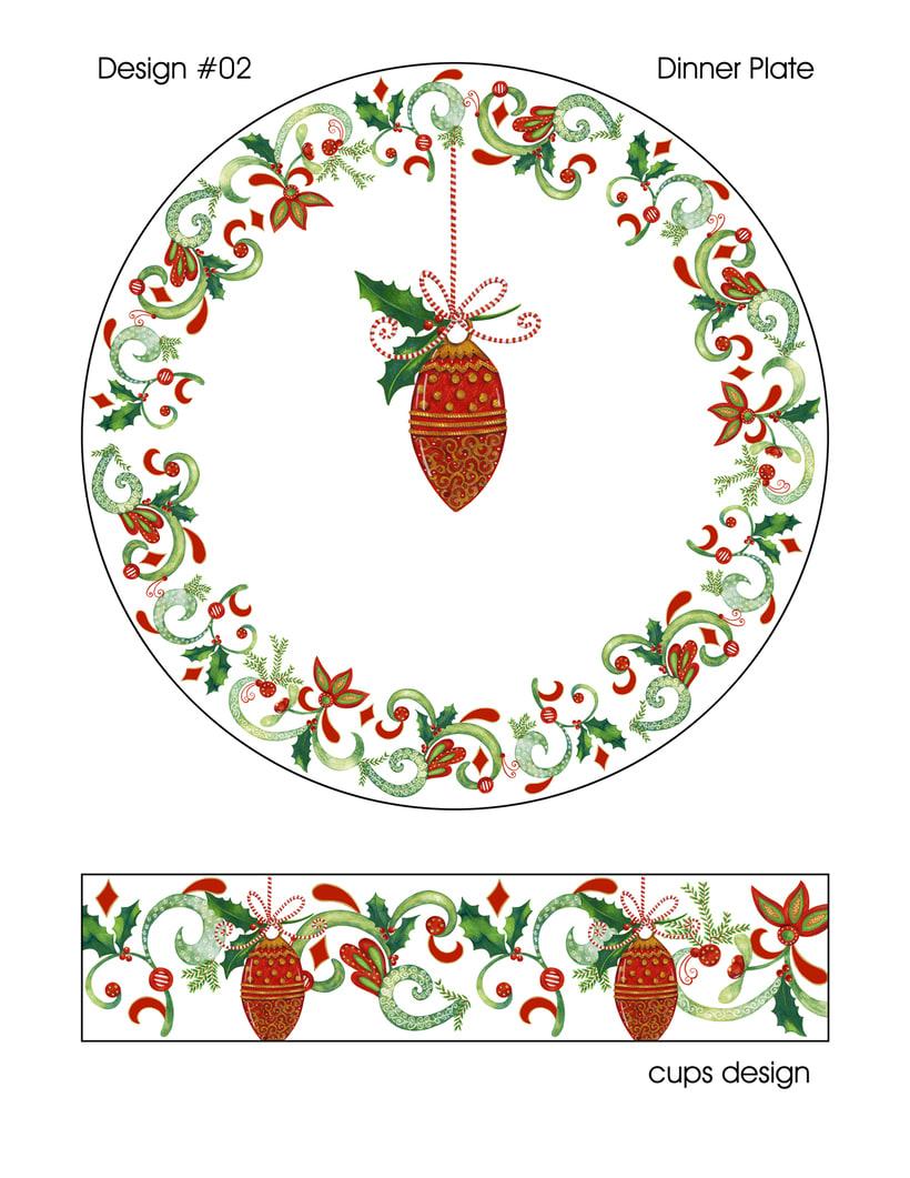 Algunas ilustraciones navideñas 9