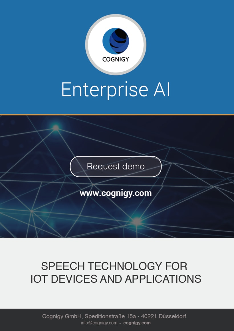Advertising for COGNIGY event (Marketing for COGNIGY, flyers, roll up...) 13