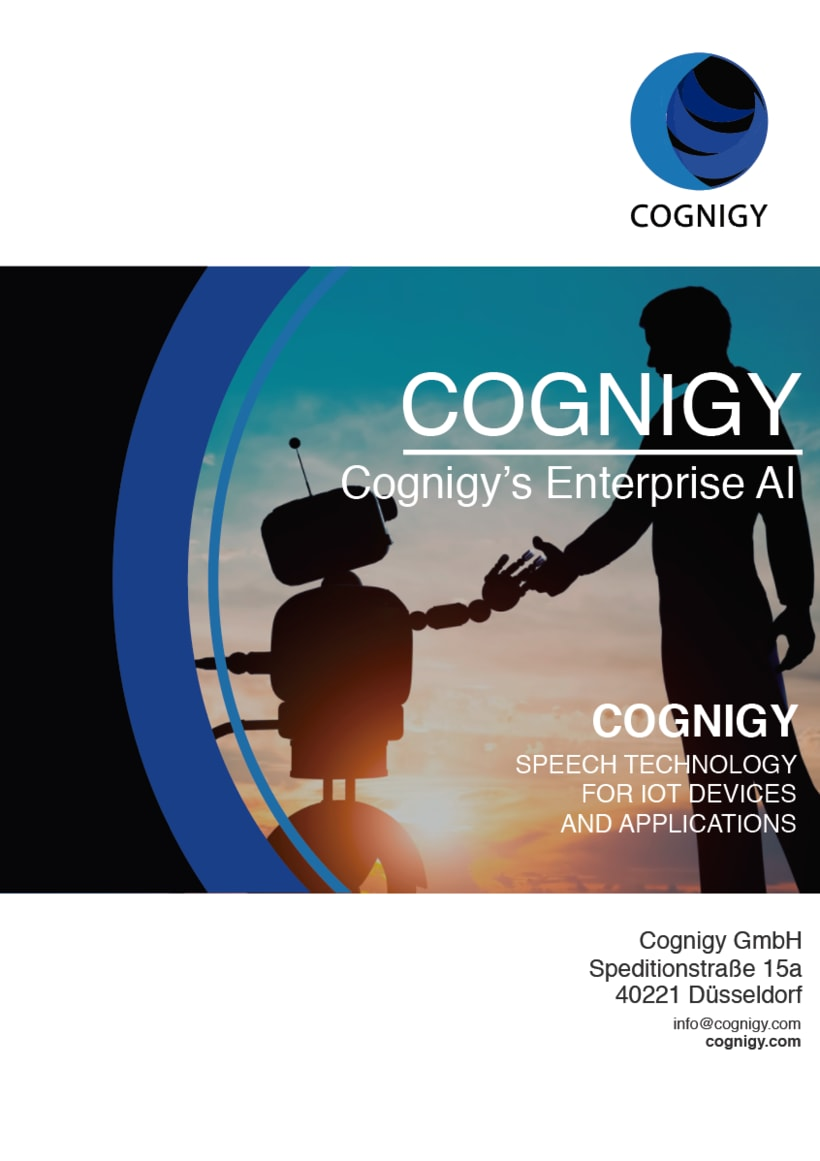 Advertising for COGNIGY event (Marketing for COGNIGY, flyers, roll up...) 16