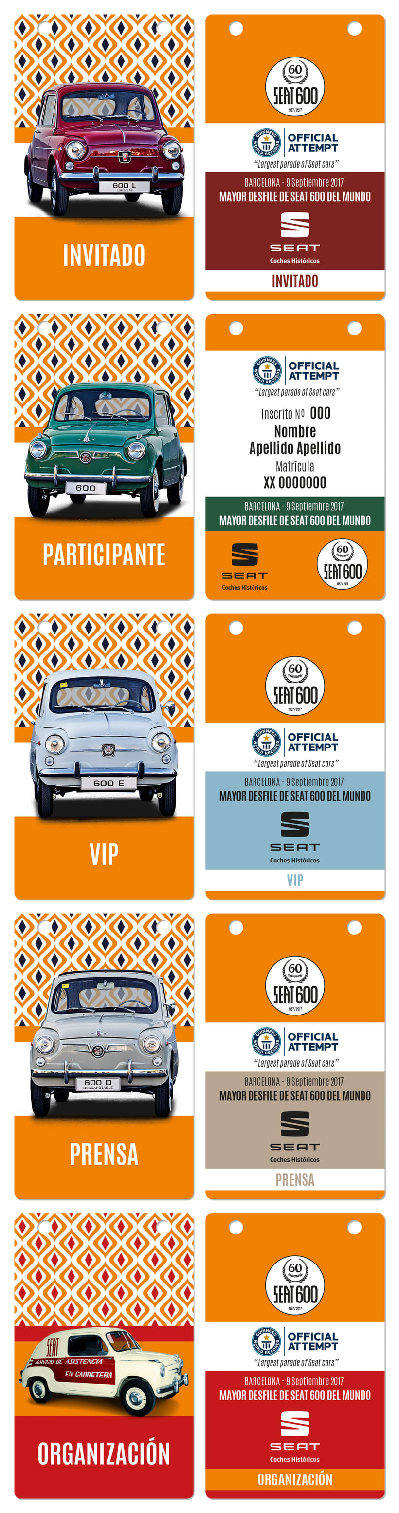 Creatividades 60 aniversario SEAT600 0