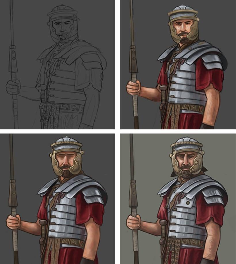 Legionario Romano 1