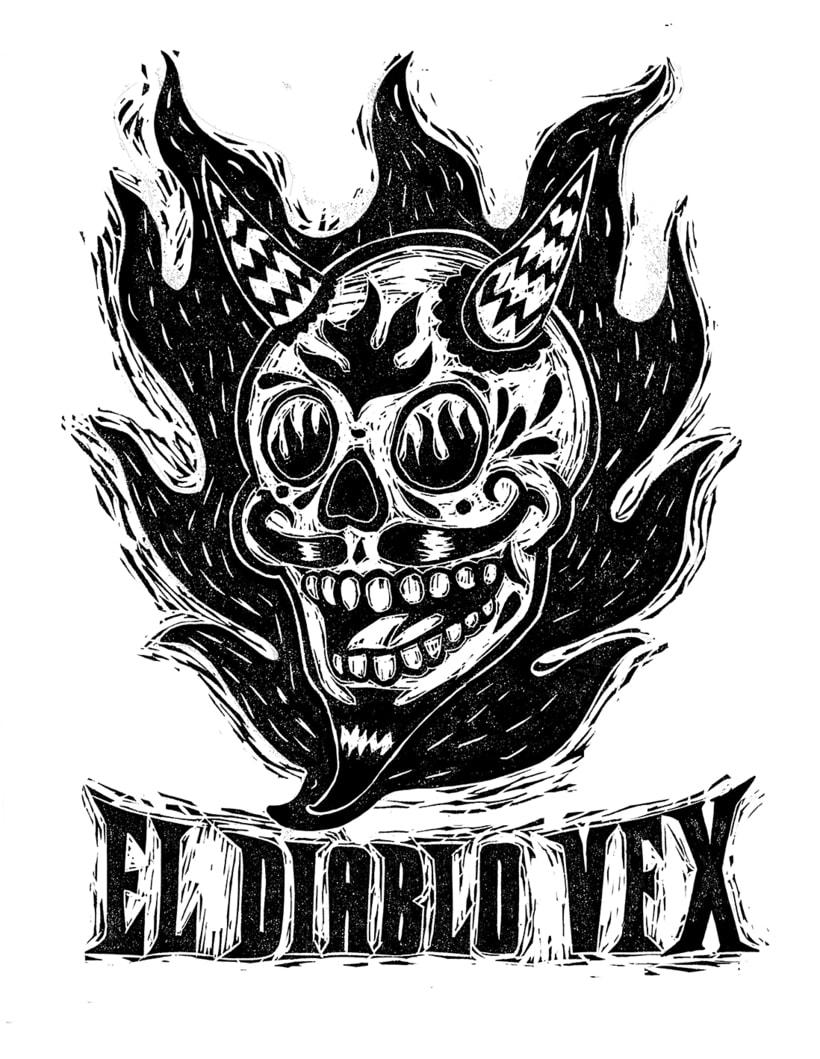 Diseño de imagen para productora de televisión canadiense El Diablo VFX 3