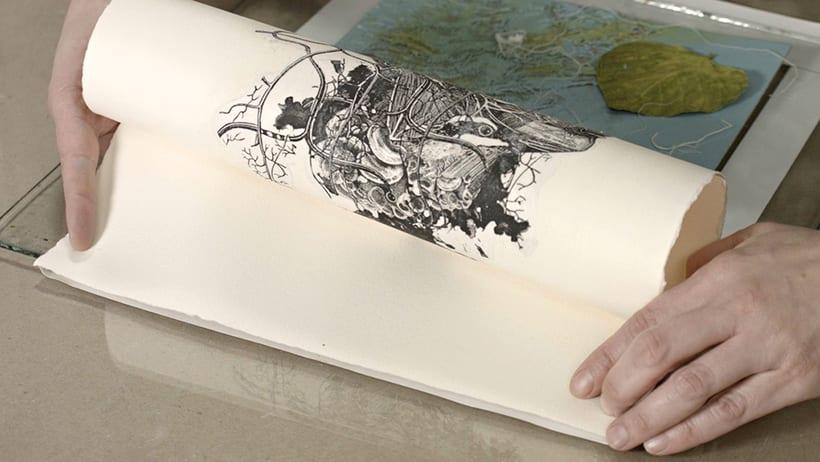 Mi Proyecto del curso: Técnicas experimentales de ilustración: de lo digital a lo artesanal 4