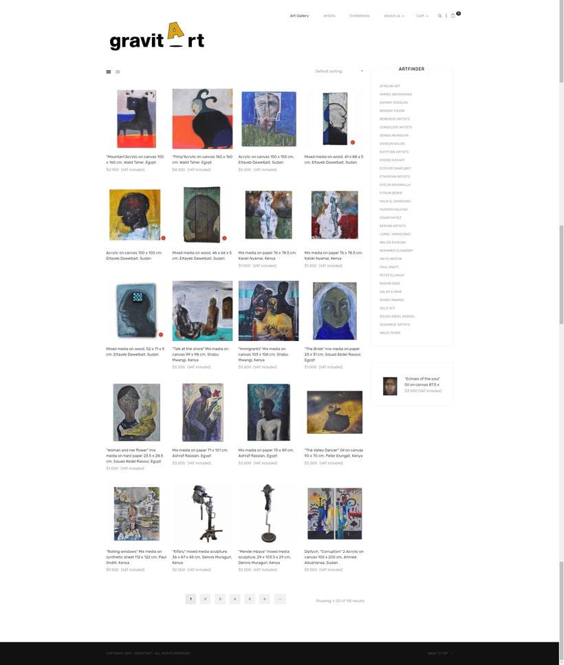 """Proyecto de una galería online para el curso """"Creación de una tienda online en WordPress"""" 0"""