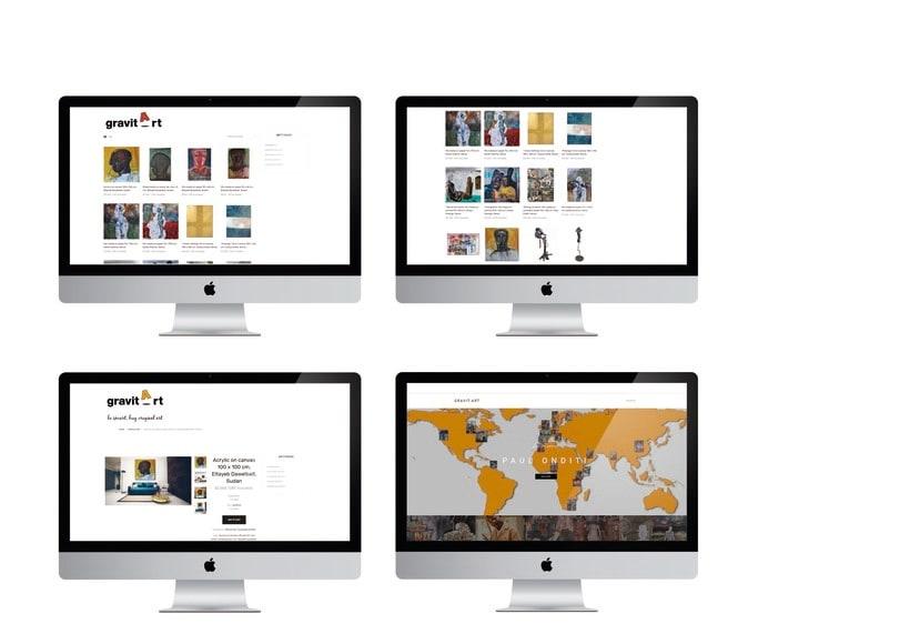 """Proyecto de una galería online para el curso """"Creación de una tienda online en WordPress"""" 3"""