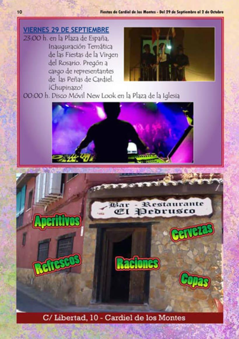 Diseño y Maquetación del programa de fiestas de Cardiel de los Montes 2017 6